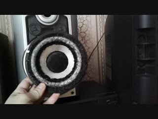 Изготовление замена колонок и СЧ+ВЧ Радиотехника