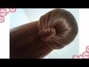 Peinados recogidos faciles para cabello largo bonitos y rapidos con trenzas para niña y fiestas7674