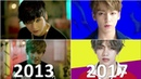 BTS (방탄소년단) MV Evolution 2013 - 2018