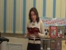 Ксения Антоненко читает стихотворение Олега СТЕРХА - на концерте О вере, надежде, любви и премудрости.