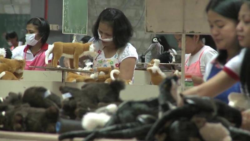 Документальный фильм «Производство мягких игрушек HANSA Creation» (1)