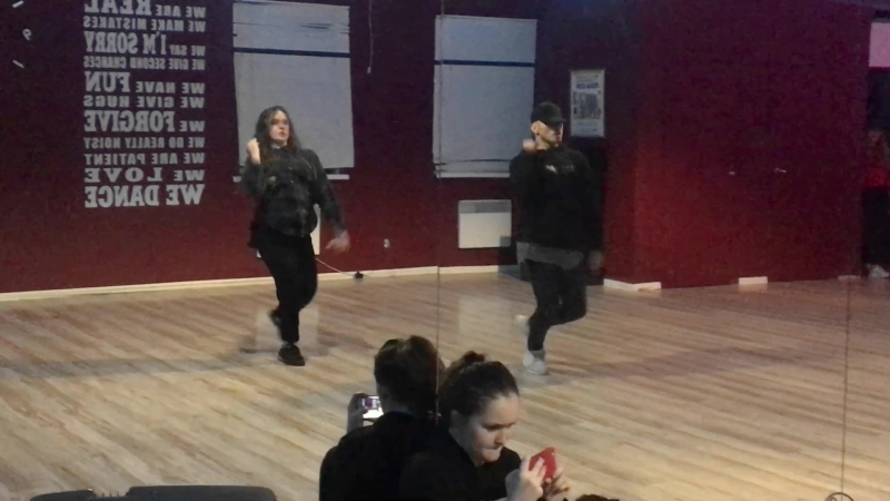 Jazz Funk choreography class