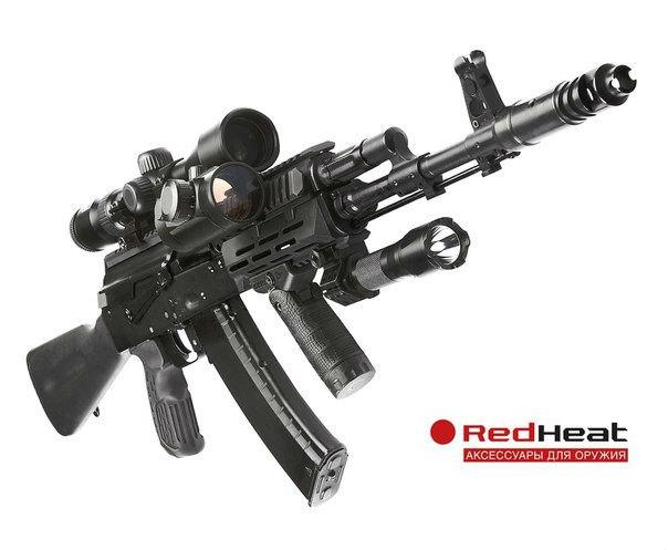 Red Heat для настоящих мужчин. Компания Red Heat специализируется на создании аксессуаров для гражданского и охотничьего огнестрельного оружия, оборудовании для сил специального назначения.