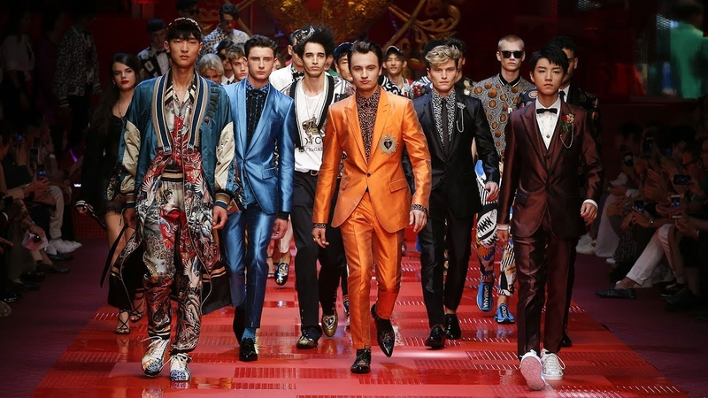 DolceGabbana Spring Summer 2018 Men's Fashion Show