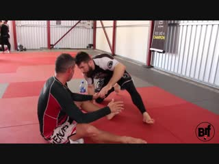 BJJ Butterfly Guard Pass So Smooth But Surprisingly Simple