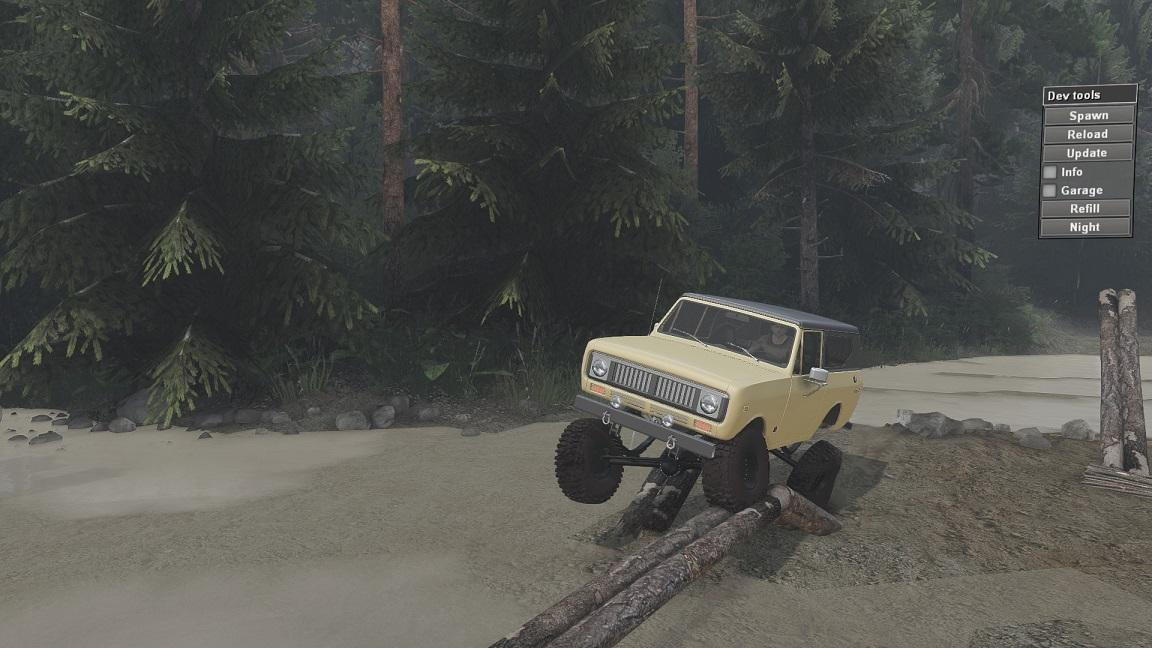 SID 1977 International Scout II для 23.10.15 и 08.11.15 для Spintires - Скриншот 3