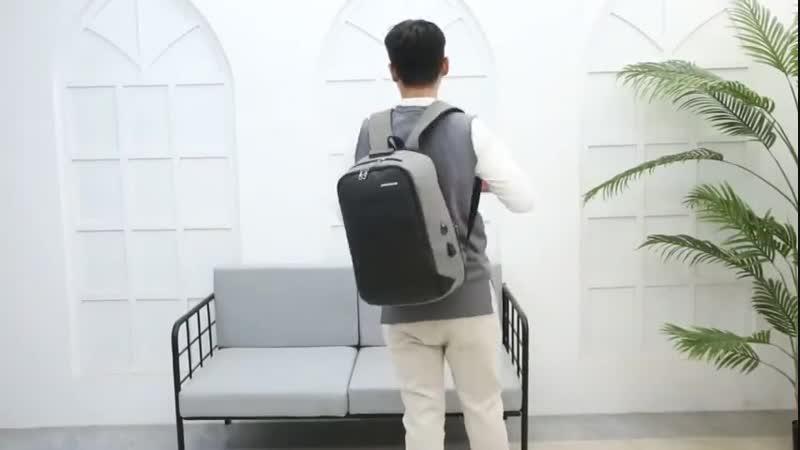 Мужской usb зарядный Противоугонный рюкзак большой емкости водостойкий 15,6-дюймовый Пароль замок ноутбук Рюкзаки Сумка XA120ZC