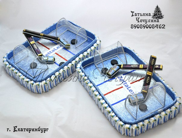 Сладкий подарок хоккеисту 29