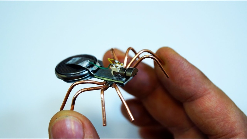 🕷Мини робот паук / Mini robot spider