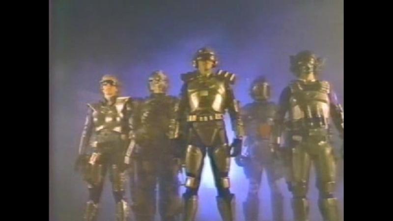 1987 - Капитан Пауэр и солдаты будущего / Captain Power and the Soldiers of the Future (13-15)