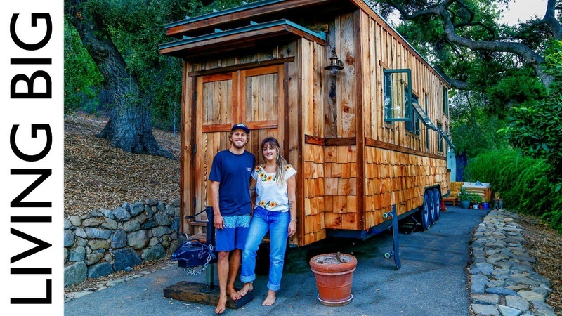 Beautifully Handcrafted Heirloom Tiny House Living Big In A Tiny House
