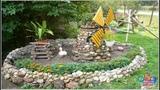 Идеи декора для сада и дачи. Дизайн дачного участка.