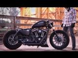 2013 Harley Davidson Custom Iron Sportster - Turn The Page