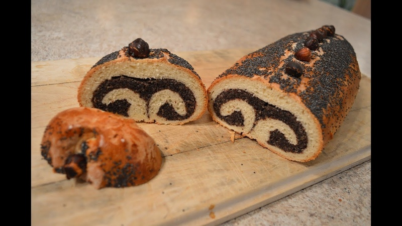 Makivnyk - Ukrainian Poppy Seed Roll Pastries: Cooking with Kimberly