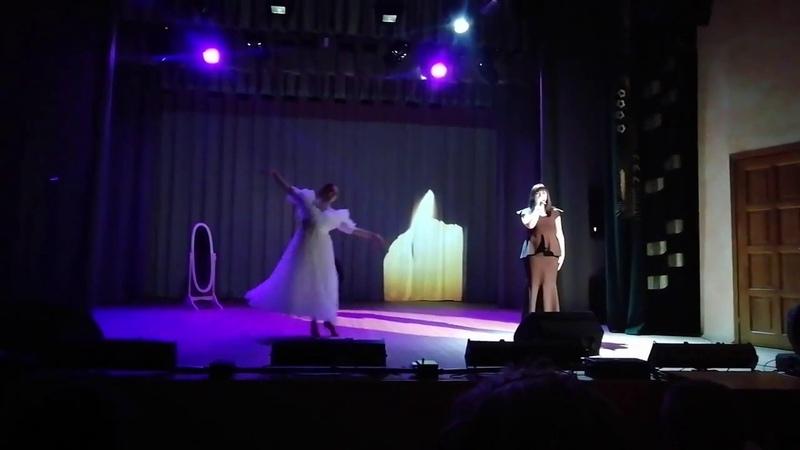 Белый танец исп. Алина Дворак и Екатерина Джур