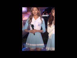 [SUJEONG] 160415 강남스타일조형물 제막식 러블리즈(Lovelyz) 토크2 Talk2 Fancam 직캠 by 세나