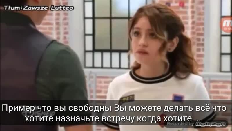 Soy Luna_Я Луна 3 Разговор Луны и Маттео 2 русские субтитры Луттео 40 серия