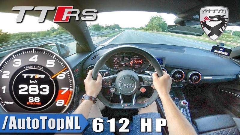 612HP Audi TT RS MTM | AUTOBAHN POV by AutoTopNL