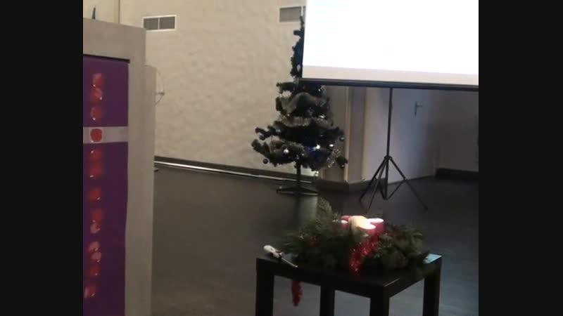 Воскресная проповедь.Первая неделя Адвента.Пастор Олег Волков.03.12.2017.
