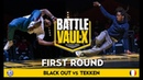 Black Out VS Tekken Crew Round 1 Battle De Vaulx International 2019