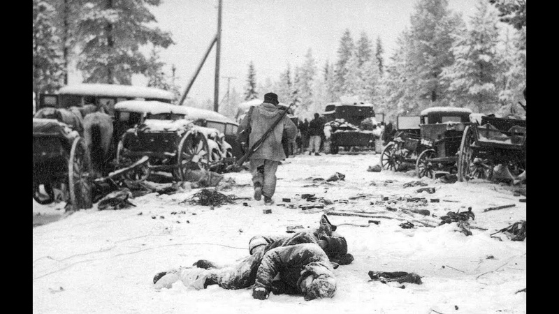 1939-1940 the defeat of the Red Army under Lemetti-Suomussalmi-Raate. Trophies of the Finnish Army