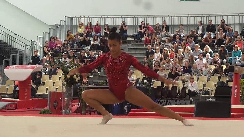 Marine Boyer (2000) - finale sol - Championnat de France 2018