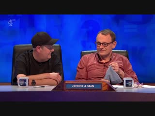 8 out of 10 cats does countdown 16x01 - lou sanders, johnny vegas, brett domino trio