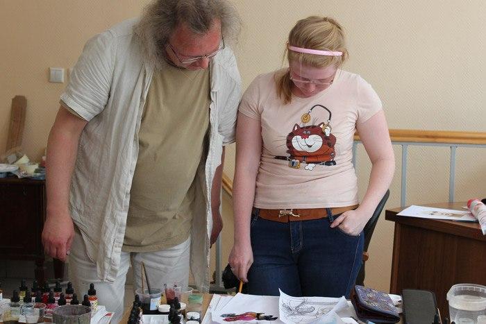 живопись акварель семинар обучение Андрей Аринушкин