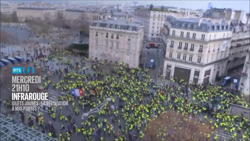 Gilets jaunes la révolution à nos portes
