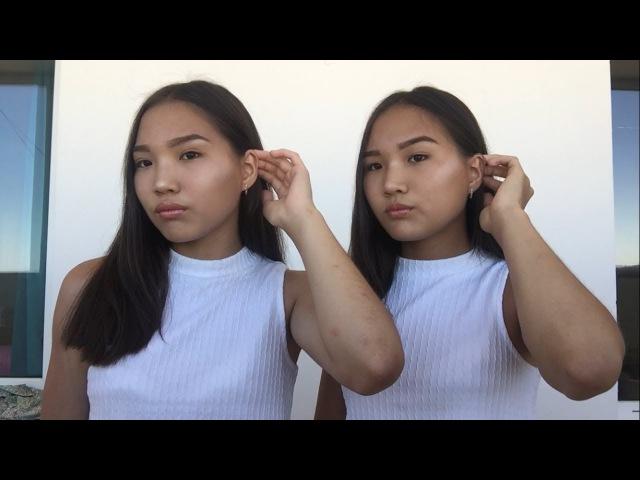 Повседневный макияж БЛИЗНЕЦОВ! Kagiris twins