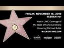 Michael Bublé Hollywood Walk of Fame Ceremony Live Stream