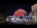 Конгресс центр Кигали окрасили в цвета китайского флага в честь государственного визита председателя КНР Си Цзиньпина