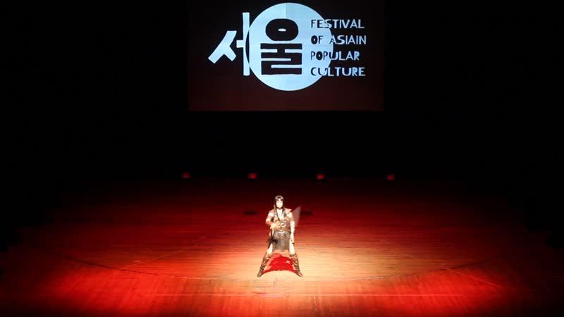 Ilma Li Зена Зена королева воинов Ярославль FAP 2019. Festival of Asian Popular culture