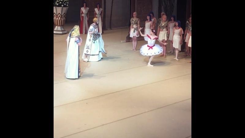 "Video - 51, 19.07.2018 ""La Fille du Pharaon"" Svetlana Zakharova and Denis Rodkin, BolshoiTheatre 🎭"