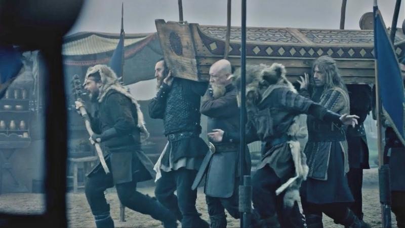 Vikings: Ragnar's Funeral [Season 3 Paris Scene] 3x10 (HD 1080p)