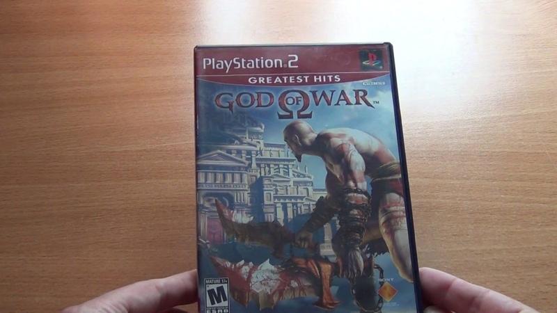 God of war playstation 2 ntsc