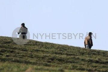 Кит Харингтон и Джемма Чан на новых фото со съемок блокбастера «Вечные» Премьера в ноябре.