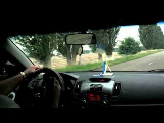 Тест-драйв KIA Cerato sedan 2010 (1.6 л., 126 лс) /Test-drive KIA Cerato 2010 1.6 126 hp/