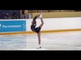The Show Must Go On (Moonlight Sonata)на льду Алена Канышева (сборная России, юниоры 2018)