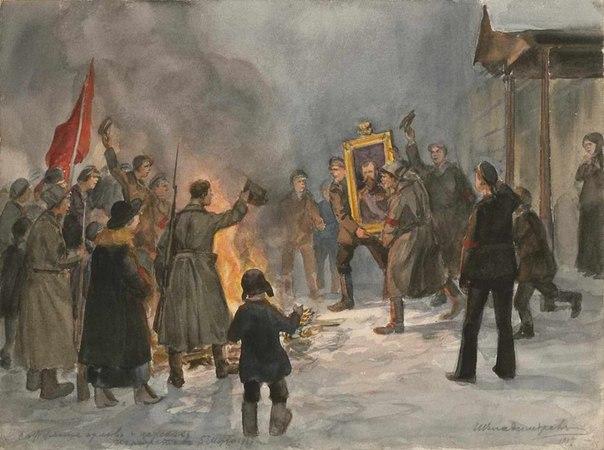 Революция и гражданская война глазами художника My4Wy77tbMQ