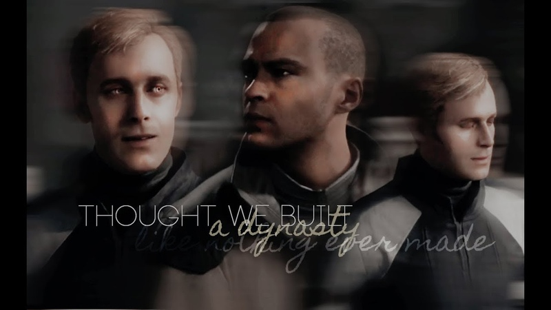 Markus x Simon It all fell down Detroit Become Human