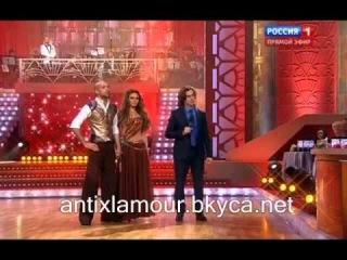 Танцы со звездами. Алёна Водонаева и Е. Папунаишвили. Пасодобль (танец+обсуждение и оценки жюри)