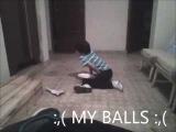 kick in the balls