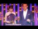 Сэм Хьюэн и Катрина Балф на церемонии вручения премии BAFTA TV