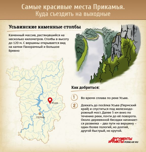 куда съездить отдохнуть в пермском крае
