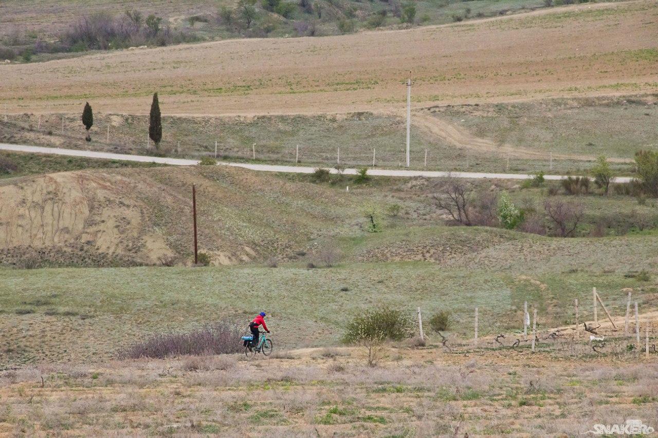 Крымский туризм на велосипеда