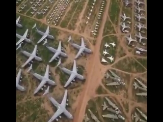 Davis-Monthan Air Force Boneyard in Tucson, Arizona ✈️ Aerospace Maintenance and Regeneration Group (AMARG)