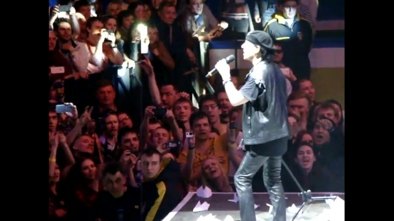 Scorpions. 50-th Anniversary. Novosibirsk, Russia. 14.05.2015