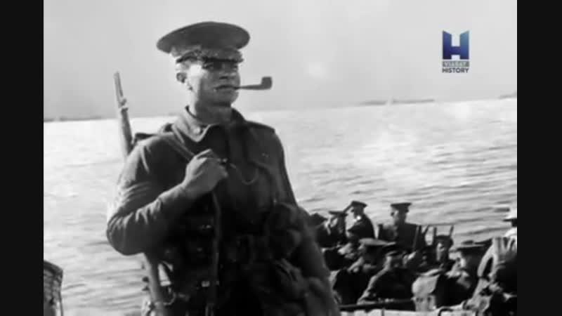 1915 год, битва за Галлиполи, 1 часть.