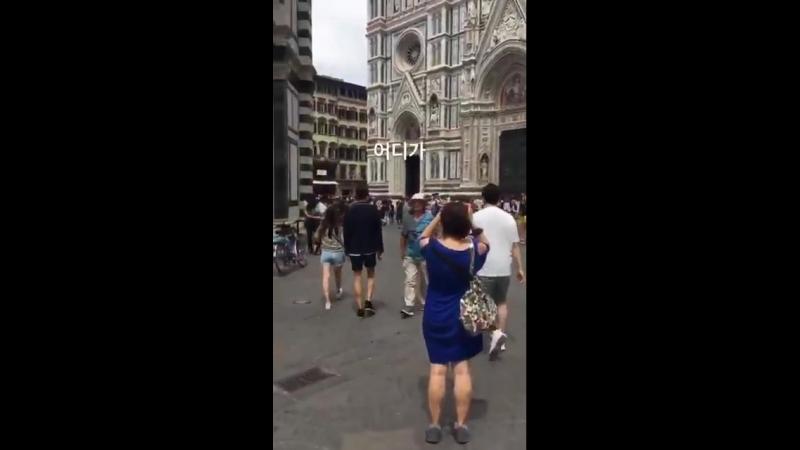 13.06.2018 Чанмин во Флоренции ( cr.:hesigner_c )